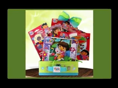 Dora The Explorer fun Pack Best Birthday Gift Basket Ideas GiftBasket4Kids