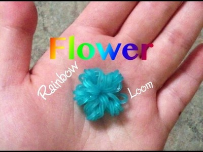 EASY Rainbow Loom Flower Charms