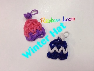 EASY Rainbow Loom Winter Hat Charms