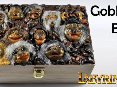 Goblins Box - Labyrinth inspired polymer clay TUTORIAL