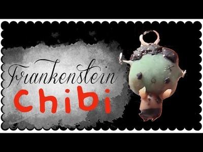 Halloween series - Chibi Frankenstein + TIP | Polymer Clay Tutorial