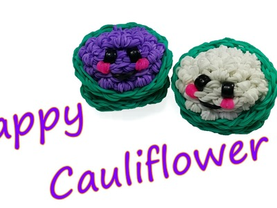 Happy Cauliflower Tutorial by feelinspiffy (Rainbow Loom)