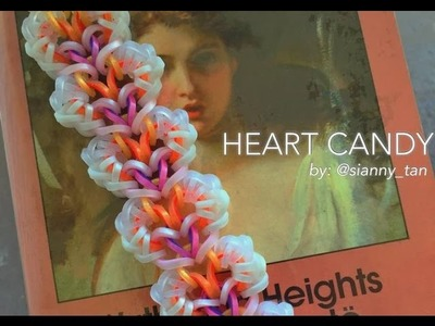 HEART CANDY Hook Only bracelet tutorial