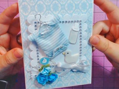 How Do I Make a Baby Shower Card