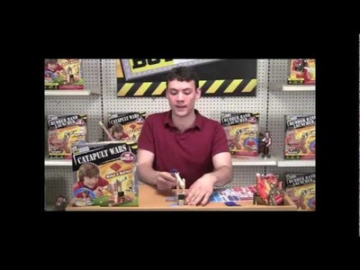How to Build a Catapult Toy- Catapult Wars Kit for kids
