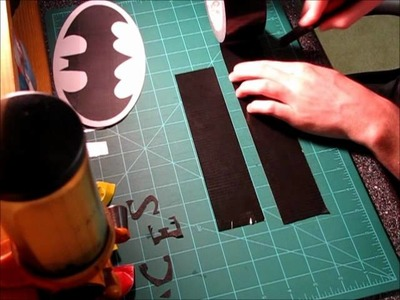How to make a Duck tape Batman Symbol
