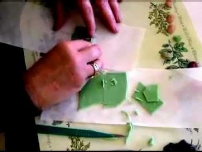 How to make a Faux Jade Polymer Clay Face Pendant - Polymer Clay Jewelry Making