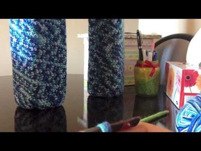 How to make a large vase using milk bottle