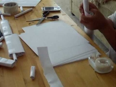 How to make a paper mp5 part3