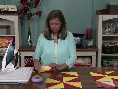 How to Make a Pinwheel Quilt Block | National Quilters Circle