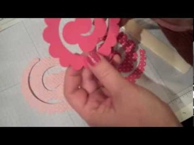 How to Make a Spiral Flower