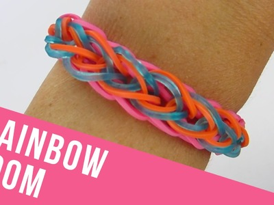 How To Make a Zipper Rainbow Loom Bracelet