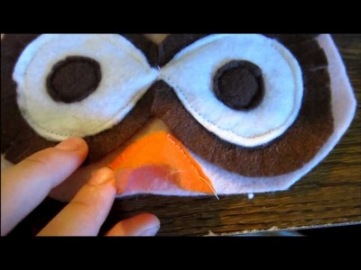 How to make an owl costume headband