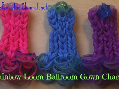 How to Make RAINBOW LOOM BALLROOM GOWN EASY