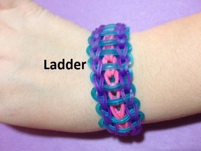 How to Make the Ladder Bracelet on the Rainbow Loom