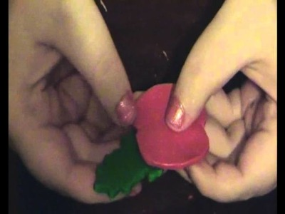 How-to make your own remembrance day poppy out of polymer clay!