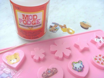 HOW TO - Seal Paper Stickers for Resin [USING MOD PODGE]