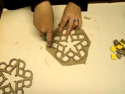 Making BVB Paper Mache Stars