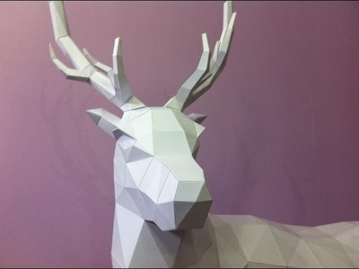 Making of a paper Stag