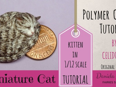Miniature Cat - Polymer Clay Tutorial