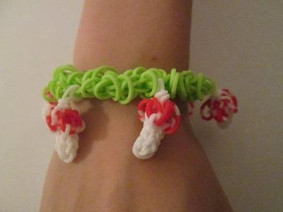 Monster Tail - Mushroom Garden Bracelet (Original Design)