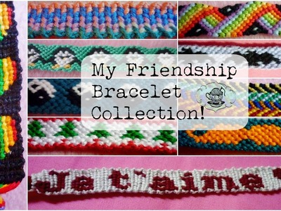 My Friendship Bracelet Collection ¦ The Corner of Craft
