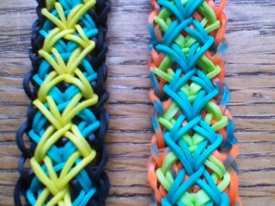 NEW Rainbow Loom Diamond Block Bracelet