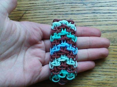 NEW Rainbow Loom Pyrachain Bracelet