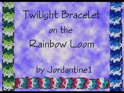 New Twilight Bracelet - Rainbow Loom, Crazy Loom, Bandaloom, Wonder Loom
