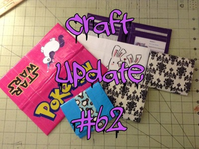 Pokemon, Unicorns, And Bunnies! Oh My! (Craft Update #62)