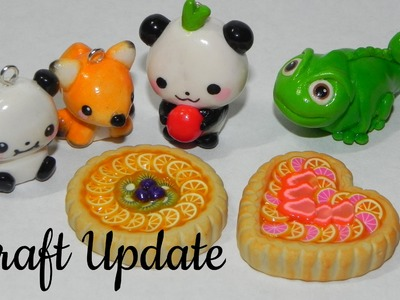 Polymer Clay and Resin Update