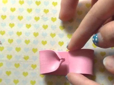 Polymer clay bow!