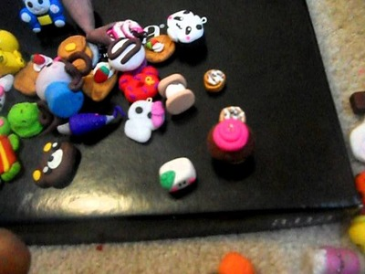 Polymer clay charms for sale 1.00$ each!