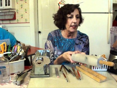 Polymer Clay Tools - What Does Deb Use in Her Studio?