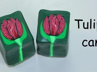 Polymer clay tutorial - Easy tulip cane