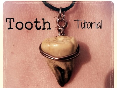Polymer Clay Tutorial: Tooth