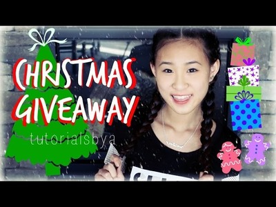 RAINBOW LOOM CHRISTMAS GIVEAWAY!! | TutorialsByA