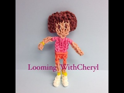 Rainbow Loom Dora The Explorer - Looming WithCheryl