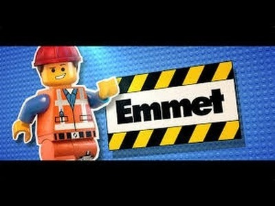 Rainbow loom Emmet from the Lego Movie