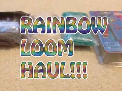 Rainbow Loom Haul - Bethany G