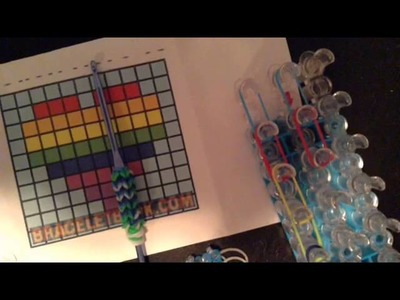 Rainbow Loom How to Make an Image - Part 2
