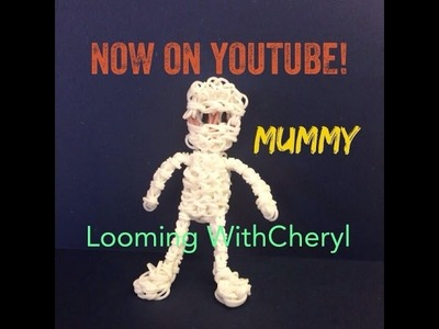 Rainbow Loom Mummy Halloween Figure - Looming WithCheryl