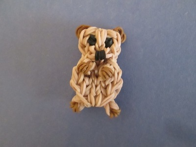 Rainbow Loom Prairie Dog, Meerkat, or Sea Otter Charm.