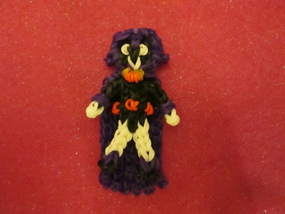 Rainbow Loom Raven Charm from Teen Titans Go!