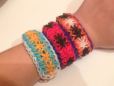Rainbow Loom Spiderleg Bracelet (Spiderman)