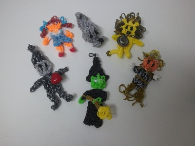 RAINBOW LOOM - THE WIZARD of OZ Figures