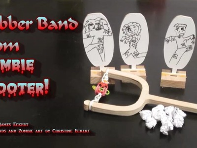 Rubber Band Loom Zombie Shooter