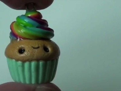 Simple Kawaii Polymer Clay Cupcake Tutorial