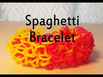 Spaghetti Bracelet on a FORK