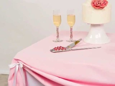 Table Linen Inspiration: Dessert Tables with Couture Table